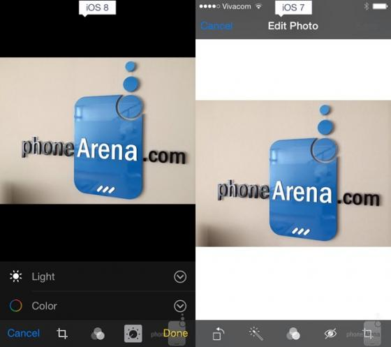 So sánh tính năng giữa iOS 8 và iOS7 15