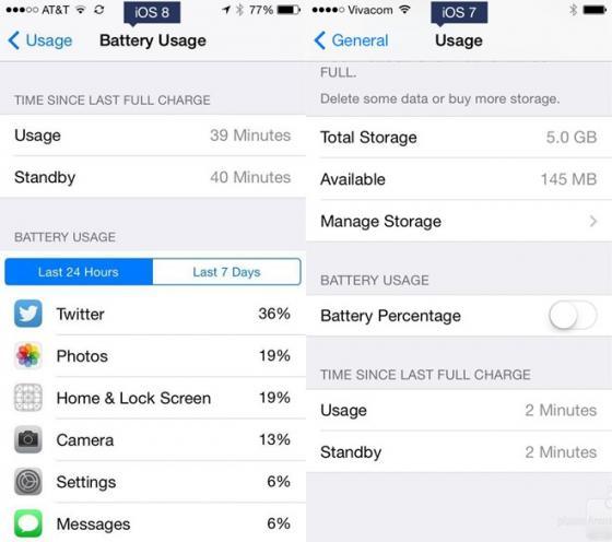 So sánh tính năng giữa iOS 8 và iOS7 17