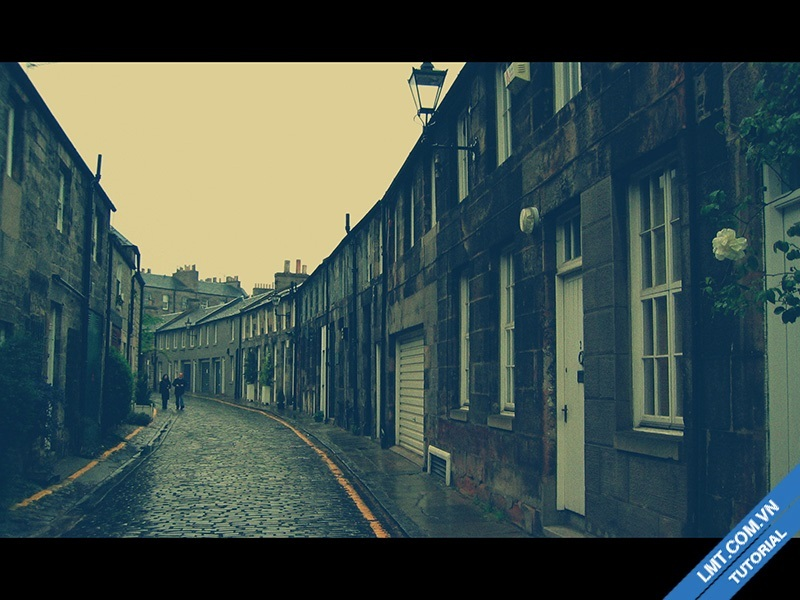 """Tạo Blend """" màu Film cổ xưa"""" bằng photoshop CS6"""