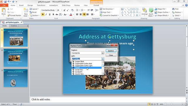 Cách đơn giản khắc phục lỗi trên slide powerpoint
