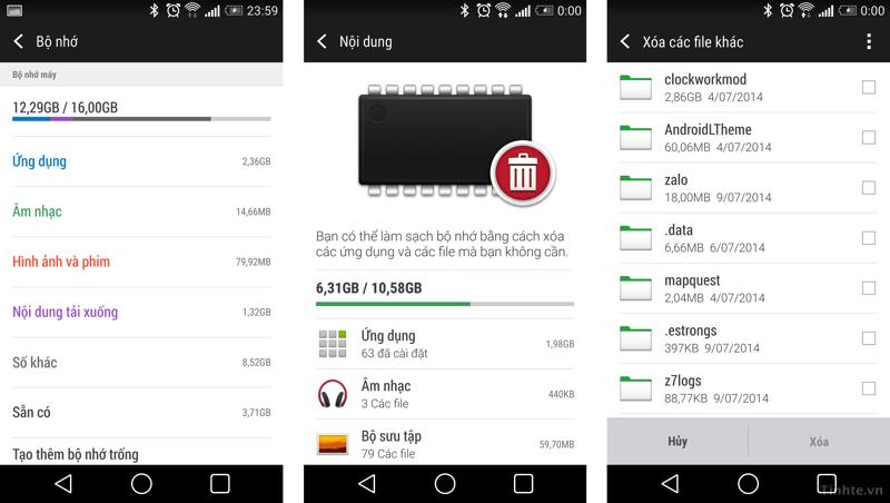 Cách tăng tốc độ cho máy Android cùi bắp