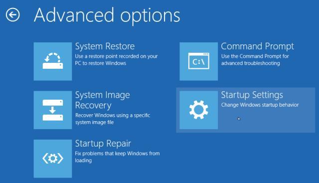 """Khắc phục sự cố """"màn hình xanh"""" trên Windows 8"""