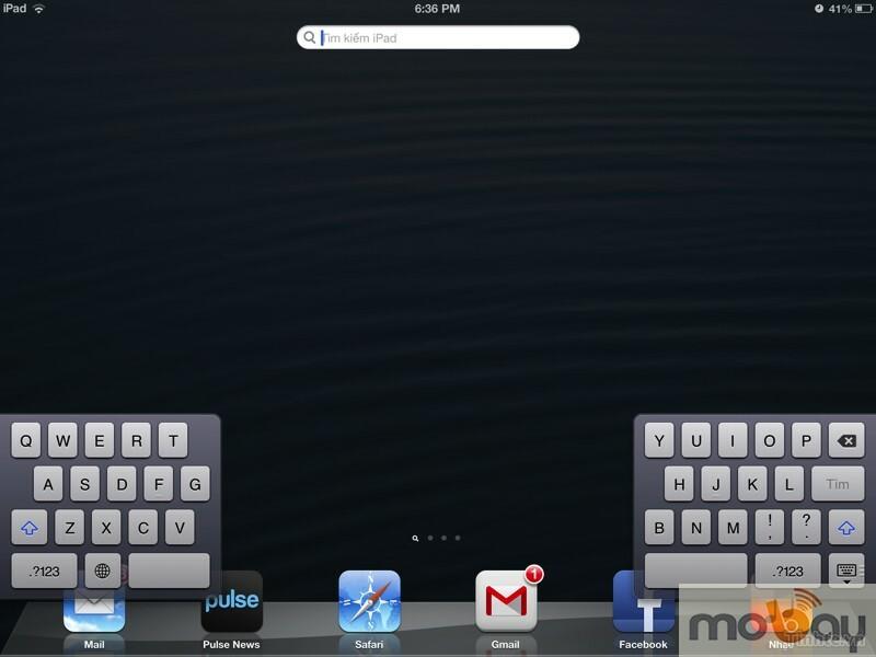 Những thủ thuật với bàn phím ảo của IOS