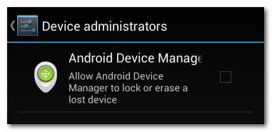Tính năng bảo mật dữ liệu khi làm mất điện thoại Android 1