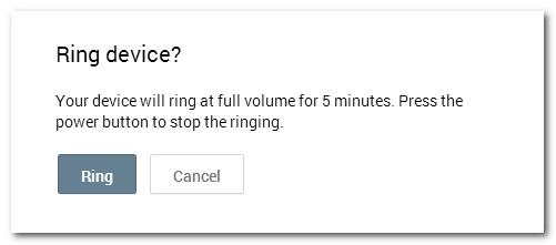 Tính năng bảo mật dữ liệu khi làm mất điện thoại Android 4