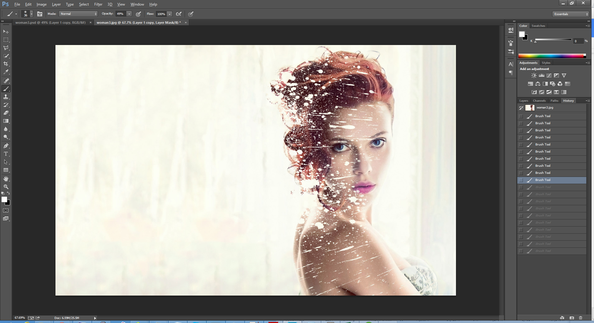 Hiệu ứng tán sắc với Photoshop CS6/CC