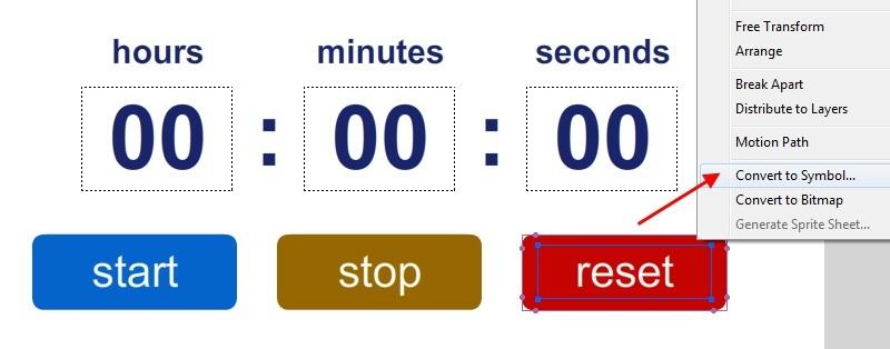 Tạo nút Start, Pause và Reset trong bộ đếm giờ