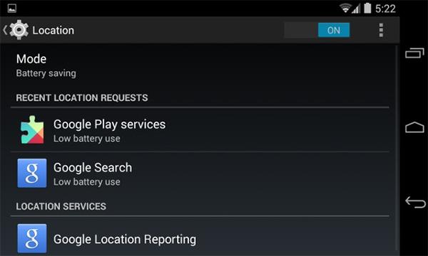 Thiết đặt này sẽ ngăn chặn Google Play Services đánh thức phần cứng