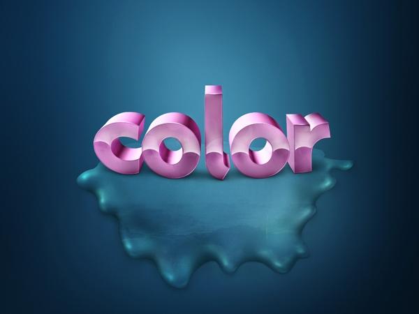 Thêm màu sắc sống động cho text 3D (phần 2) 10