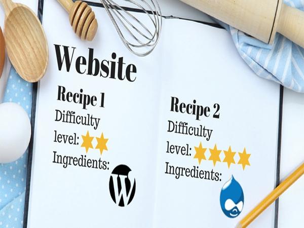 So sánh WordPress với Drupal: Cách để chọn một CMS cho doanh nghiệp của bạn? 1