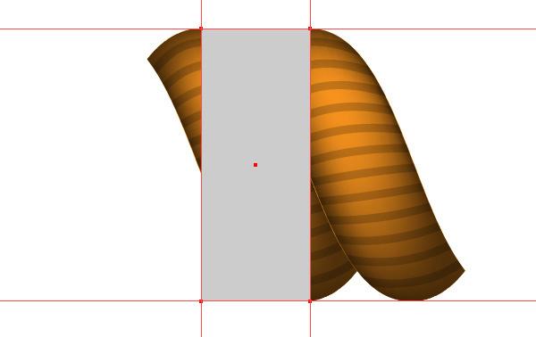 tạo ra một hình chữ nhật mà đỉnh phải nằm chính xác trên các điểm giao nhau theo đường dẫn