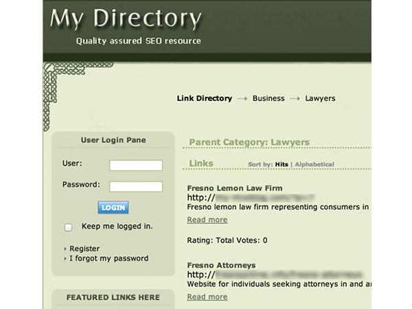 Cách  xác định link Directory - liên kết không tự nhiên 1