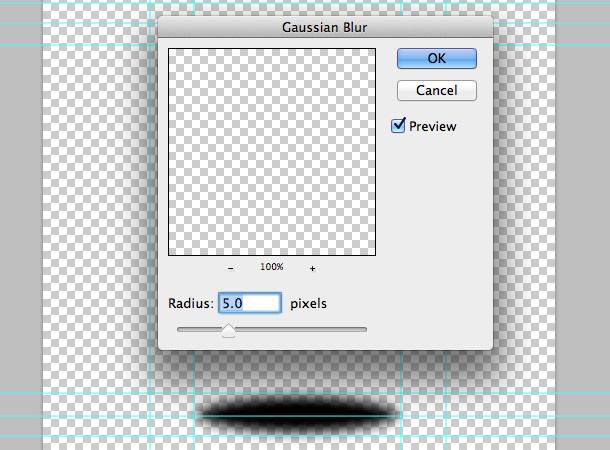 Áp dụng Gaussian Blur