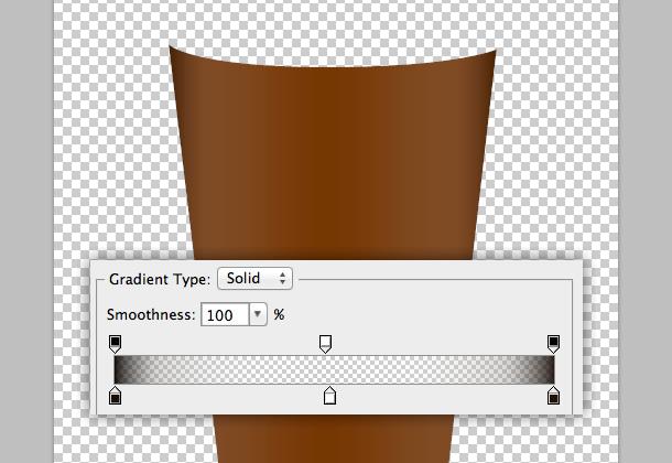 Chọn Gradient Overlay và tạo ra một gradient