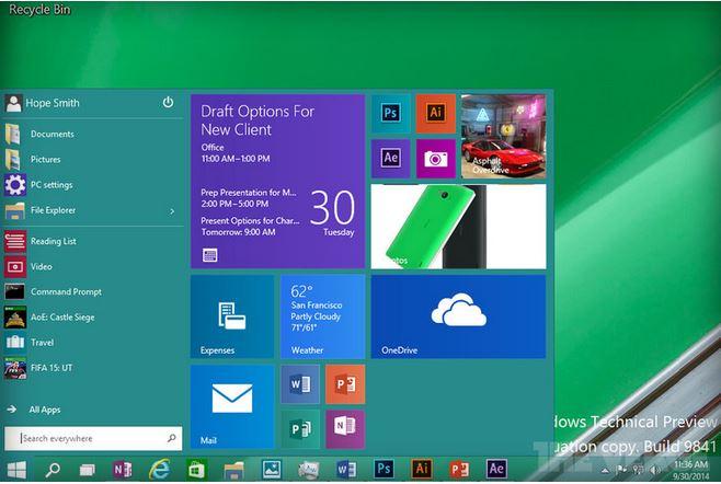 Bao giờ thì Windows 10 được phát hành