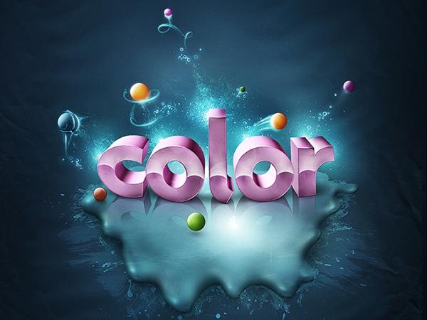 Thêm màu sắc sống động cho text 3D (phần 3) 9