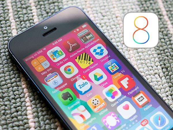 Những tính năng mới đáng giá của iOS 8 1