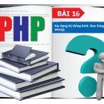 PHP cơ bản -  Bài 16:  Xây dựng hệ thống bình chọn bằng PHP và MYSQL 8