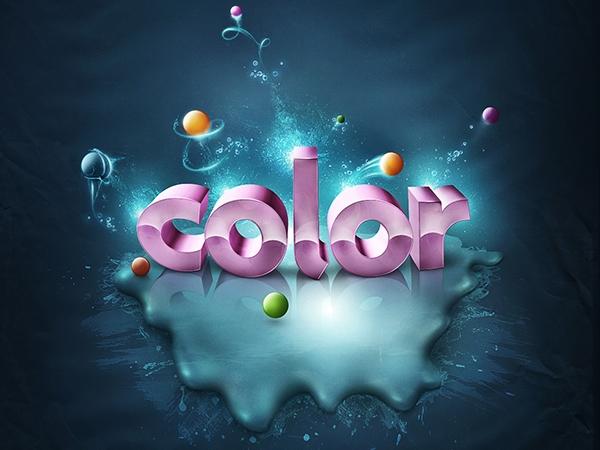 Thêm màu sắc sống động cho text 3D (phần cuối) 8