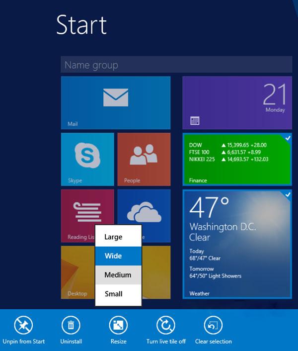 Khám phá những thủ thuật Windows 8.1 cực thú vị