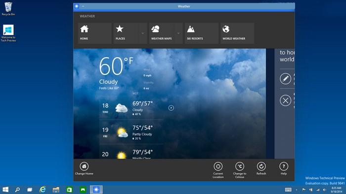 Tất cả mọi thứ đều có thể chạy trên Windows