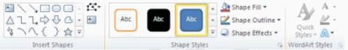 Một số công cụ đồ họa thú vị trong Word 2010