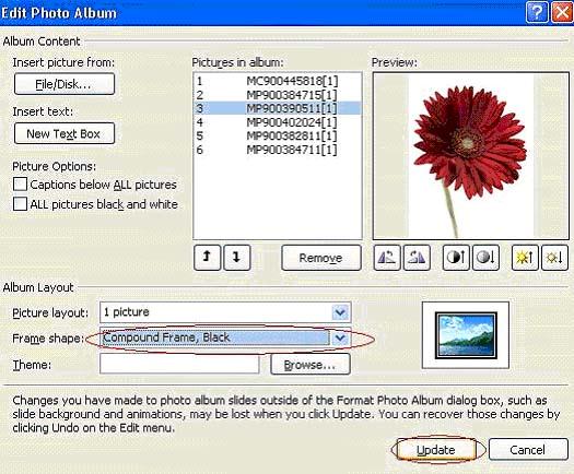 Những thủ thuật hay với hình ảnh trong Powerpoint 2010