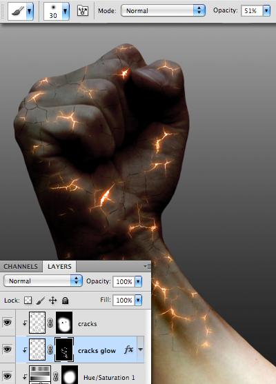 hiệu ứng ánh sáng thú vị trong photoshop