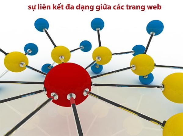 Sự liên kết đa dạng giữa các trang web