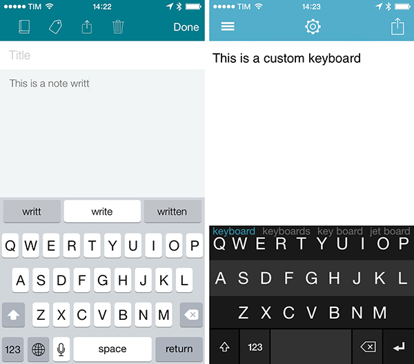 8 ứng dụng bàn phím hoàn hảo nhất dành cho IOS 8