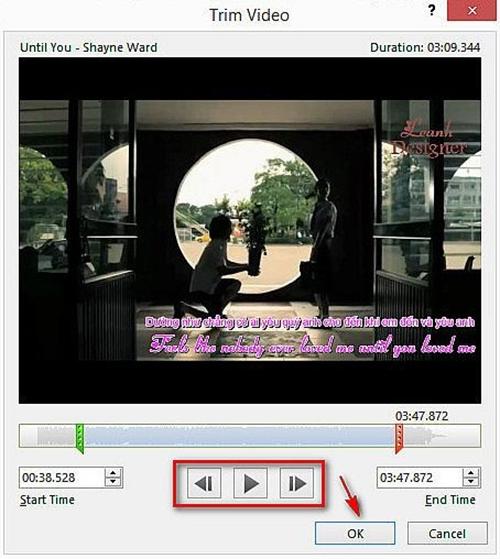 Hướng dẫn chèn video trong Power Point