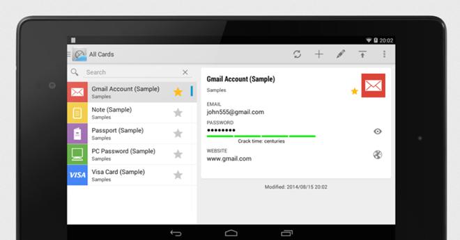 Khám phá những ứng dụng quản lý mật khẩu hữu ích dành cho Android