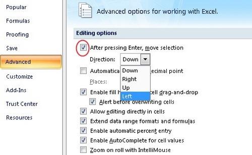Một số mẹo vặt để thao tác nhanh chóng trên Excel 2007 và 2010