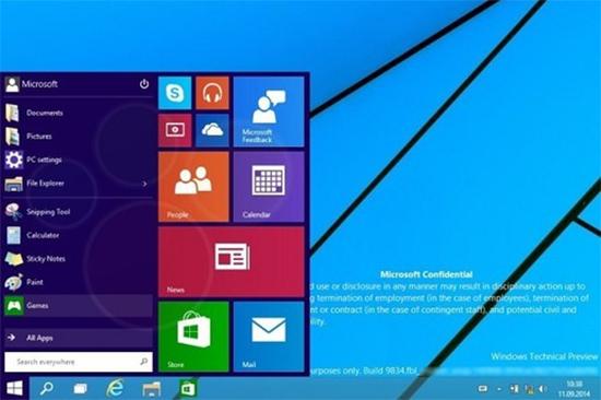 Những tính năng được mong chờ trên Windows 9