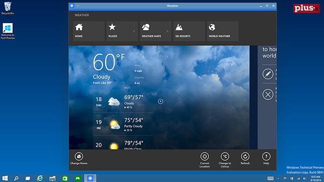 Những tính năng nổi bật vừa được giới thiệu trên Windows 10 (Windows 9)