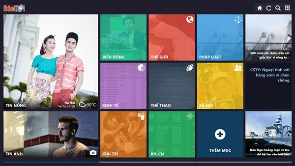 Những ứng dụng thú vị nhất trên hệ điều hành Windows 8