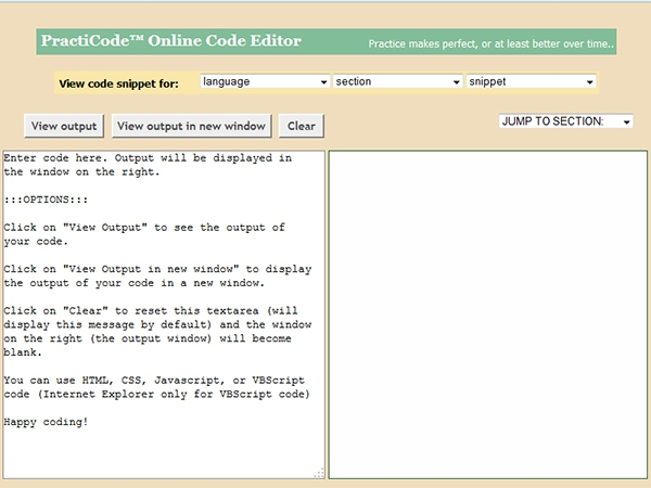 Điểm danh 9 trình soạn thảo code trực tuyến 3
