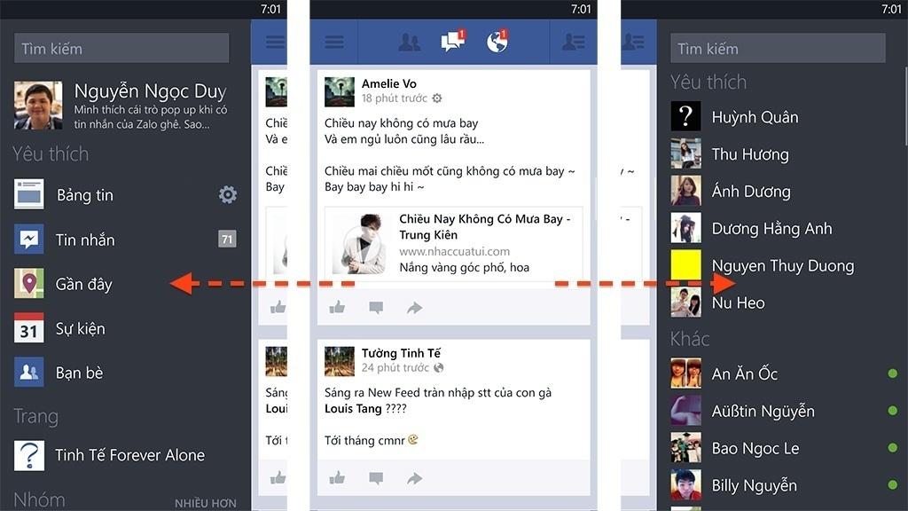 6 mẹo hay khi sử dụng Facebook trên Windows Phone có thể bạn chưa biết