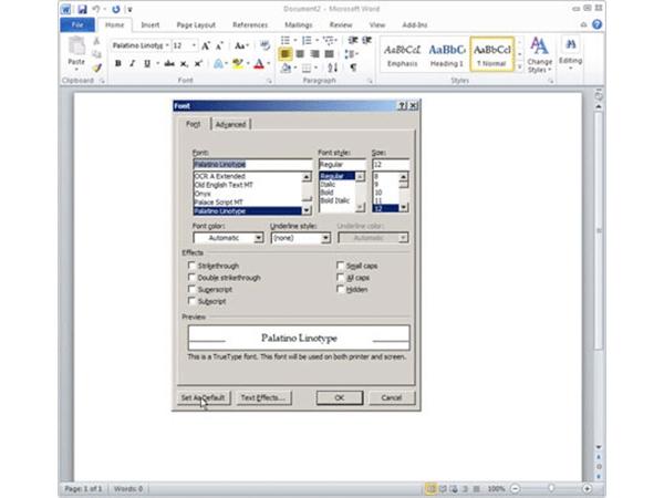 Những mẹo hay cho việc soạn thảo trên Word 2010 4
