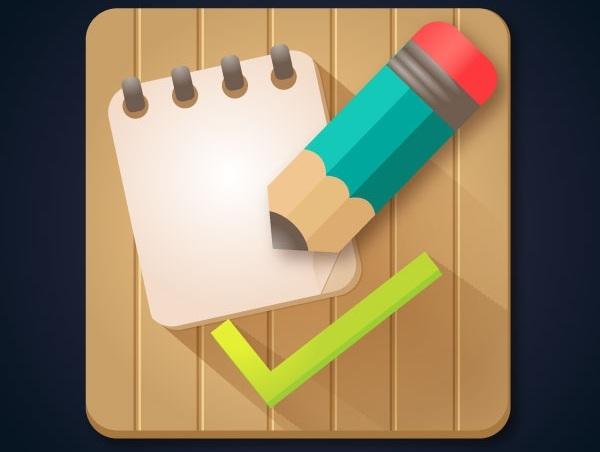 Tạo biểu tượng ứng dụng danh sách những công việc cần làm trong Adobe Illustrator 10