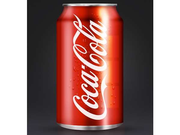 Tạo một lon Coca-Cola sử dụng Adobe Photoshop (Phần 3) 1