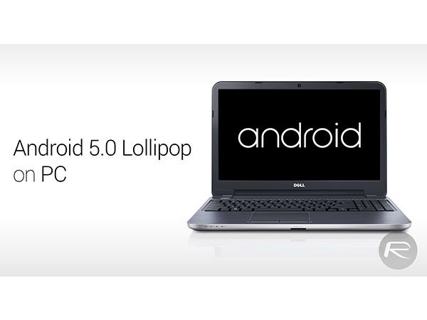 Các bước cài đặt Android 5.0 Lollipop trên PC 9