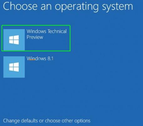 Làm thế nào để cài đặt Windows 10 song song với Windows 7, 8?