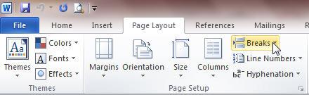 Những mẹo hay cho việc soạn thảo trên Word 2010