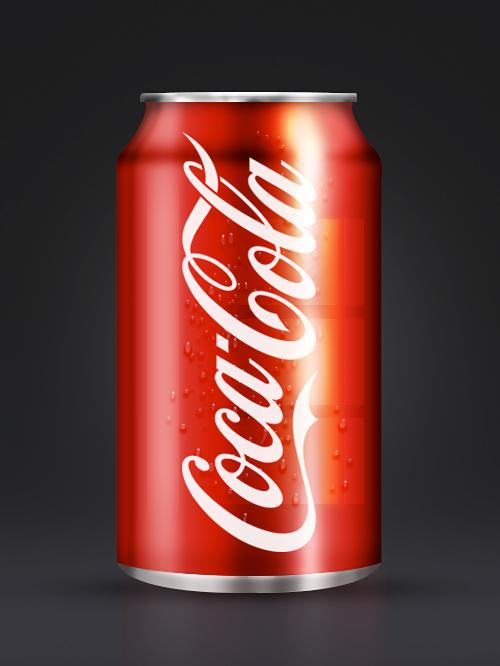 Tạo một lon Coca-Cola sử dụng Adobe Photoshop(Phần 1)