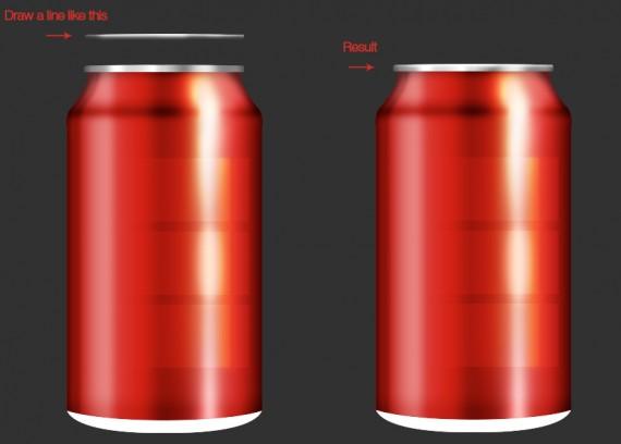 Tạo một lon Coca-Cola sử dụng Adobe Photoshop (Phần 3)