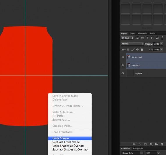 Tạo một lon Coca-Cola sử dụng Adobe Photoshop
