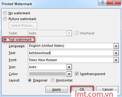 Word 2013: Các bước chèn ảnh bản quyền