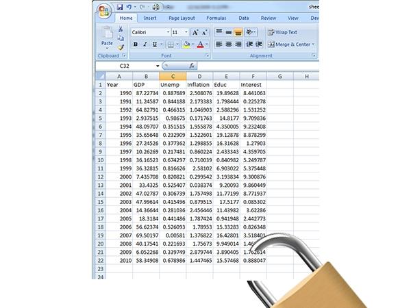 Khóa và bảo vệ những ô có chứa công thức trong Excel 2010 6