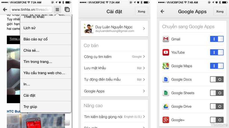 9 thủ thuật hay với trình duyệt Chrome trên Android và iOS